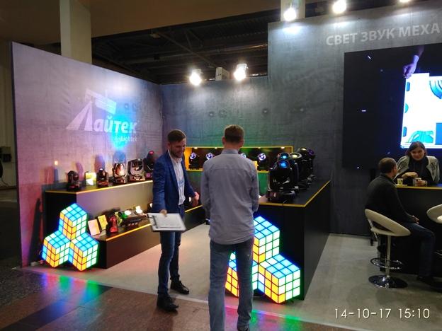 Компанія Лайтек - обладнання для шоу-бизнесу в Україні