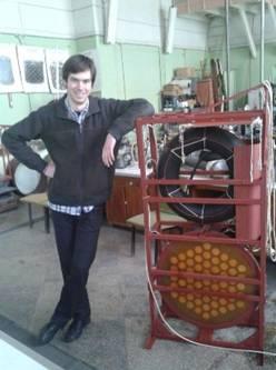 У приміщенні вимірювального басейну Київського НДІ гідроприладів