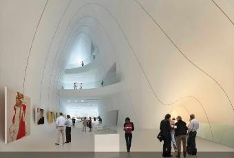 Культурный центр: фойе