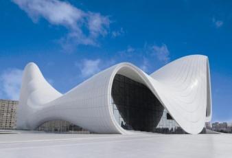 Культурный центр в Баку: общий вид