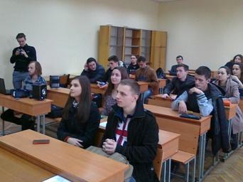 Учасники семінару - студенти 1-4-х курсів та майбутні абітурієнти