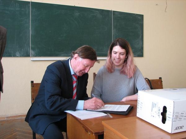 Підписання домовленостей від кафедри