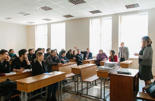 Зустріч із студентами кафедри