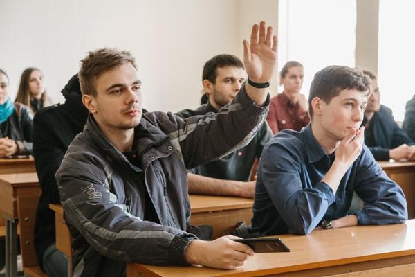 Студенти кафедри на зустрічі