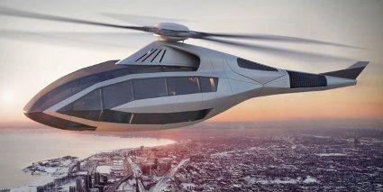 Звукоизоляция в вертолете будущего