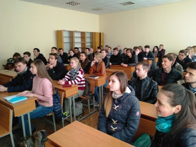 Студенти 3-5 курсів кафедри АтаАЕ