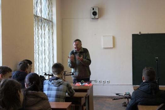 Віталій Семенович Дідковський вітає майбутніх студентів