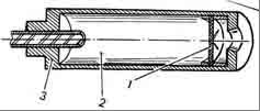 Простий однокамерний глушник